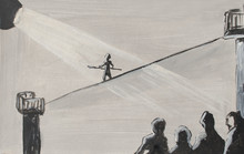 Acrobat, Tightrope Walker, Peo...