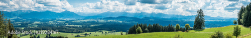 Wall Murals Blue jeans auerberg mountain