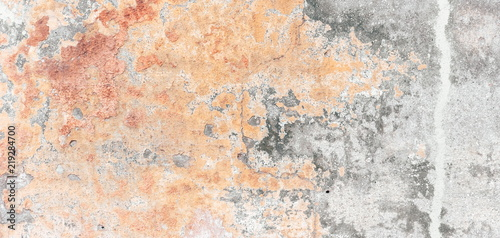 Foto auf AluDibond Graffiti Texture of street old plaster wall for background.