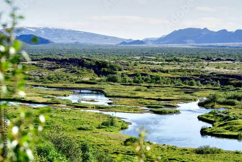 Aluminium Prints Indonesia Beautiful nature of Iceland