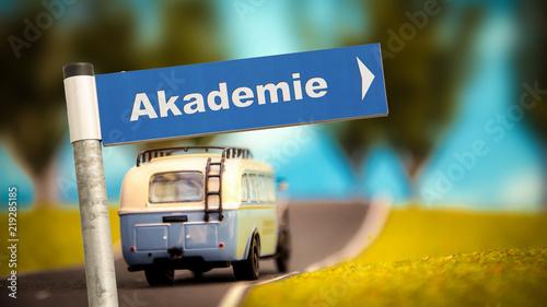 Foto  Schild 366 - Akademie