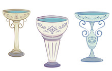 Bird Baths Illustration