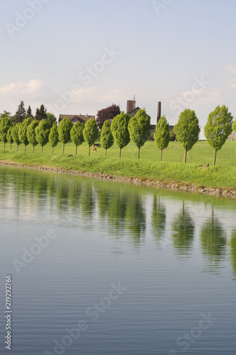 Fotomural  Waterway // Kanal