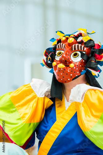 Papiers peints Carnaval unidentified Korean dancing traditional dances