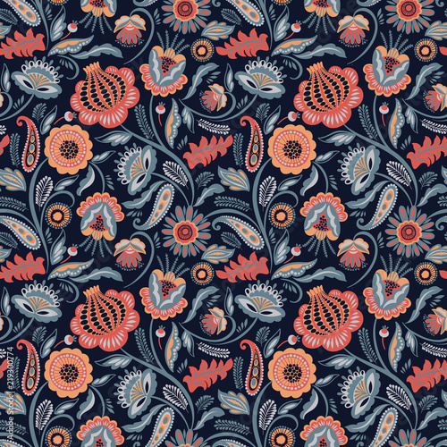 folk-floral-seamless-pattern-modern-abstract-design