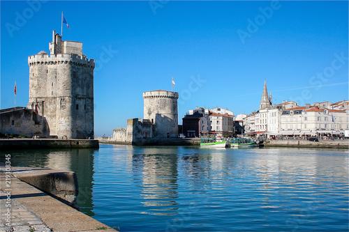 Staande foto Poort Port La Rochelle