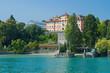 canvas print picture - Deutschordenschloss auf der Insel Mainau, Bodensee