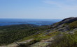 View from Cadillac Mountain in Acadia National Park, Maine, USA