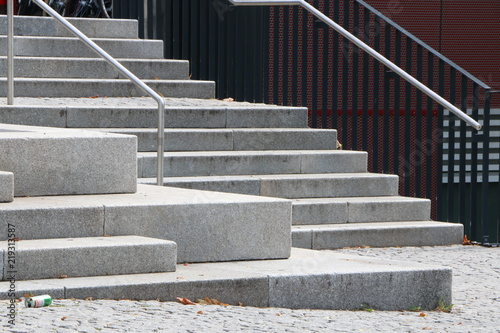 Foto op Plexiglas Trappen Stairs, Treppen