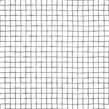 Black Grid On White Seamless V...