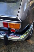 Französische Fließheck Limousine Der Siebzigerjahre