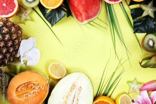 Fototapeta owoce owocowy-stol