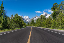 Road In Grand Teton National P...