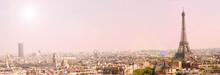 Panoramic View Of Paris With T...