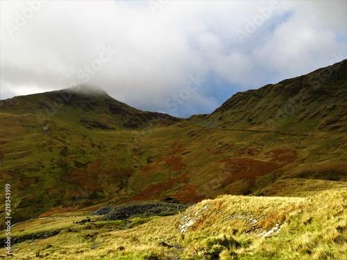 In de dag Bleke violet Mount Snowdon Views