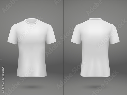 realistic template soccer jersey Tableau sur Toile