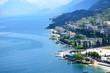 canvas print picture - Italia, Italien, Garda, Gardasee, Malcesine, Urlaub,