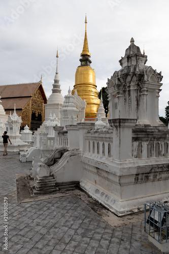 Fotografia  Wat Suan Dok Thai Temple Relics