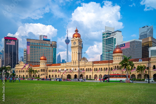 Canvas Prints Kuala Lumpur sultan abdul samad building in Kuala Lumpur, Malaysia