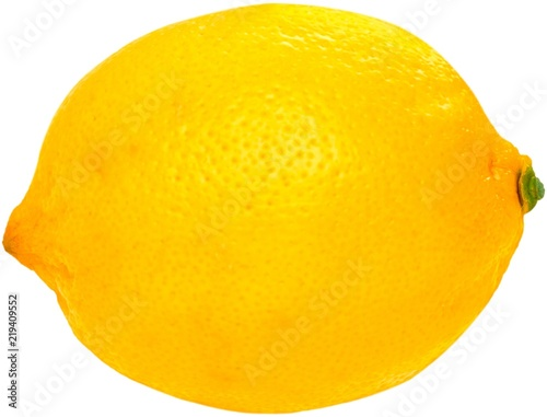 Whole lemon Canvas Print