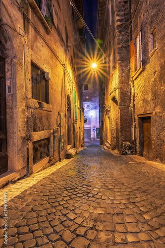 Tivoli Street at the evening Time, An Ancient Town Famous and full History Place