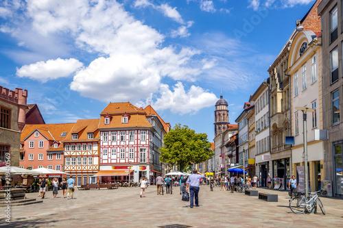 Staande foto Europese Plekken Göttingen, Fussgängerzone