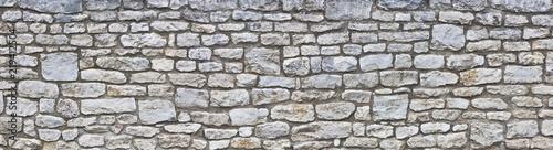 Fotografía Rustikale Natursteinmauer
