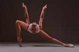 Ballerina like a predatory bird
