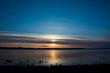 湖の夕暮れ