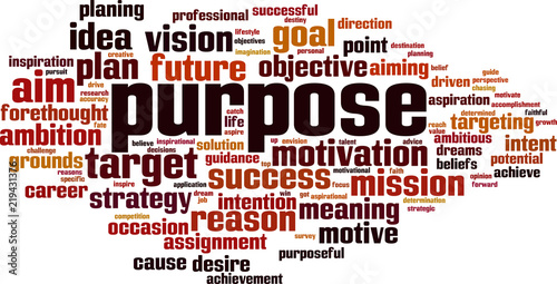 Photo Purpose word cloud