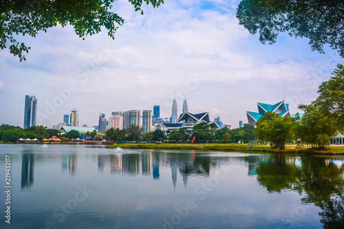 Photo Stands Kuala Lumpur Kuala Lumpur Lake Park