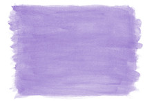 Hand-painted Purple Lilac Wate...