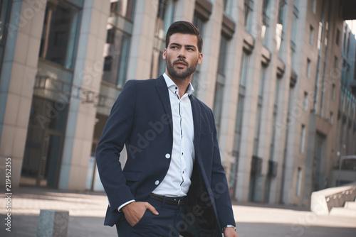 Fototapeta Confident businessman