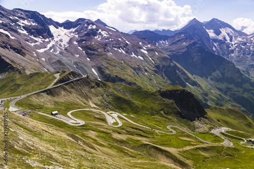 Fotografie, Obraz  Grossglockner High Alpine Road . Austria. Europe