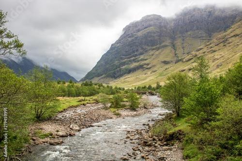 Photo  Nebel in den Highlands