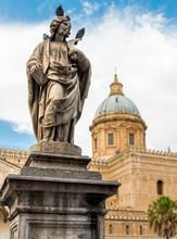 Statue Of San Cristina Around ...