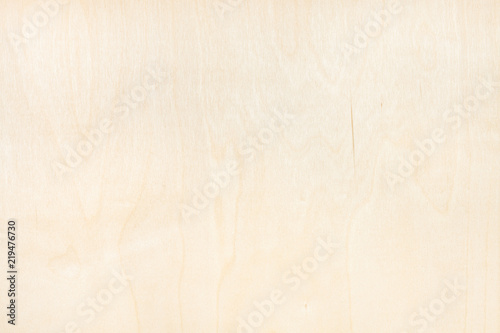background from natural birch plywood Fototapeta