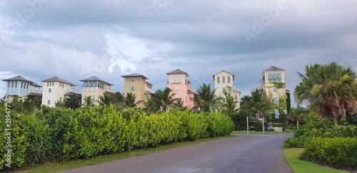 Fotografie, Obraz  Streets and luxury homes of Alabany marina