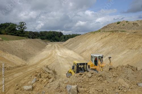 Photo chantier de terrassement