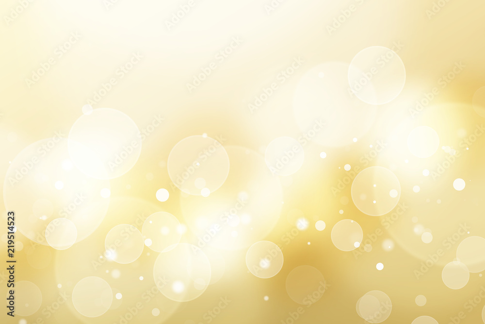 Fototapety, obrazy: 金色のボケ、抽象的背景