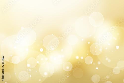 Fototapeta  金色のボケ、抽象的背景