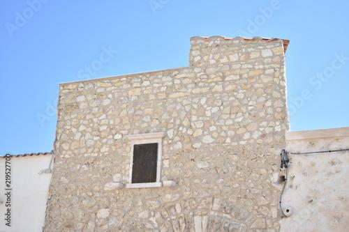 Foto op Canvas Oude gebouw Ancient building, medieval structure