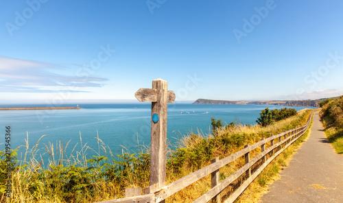 Foto op Plexiglas Kust Wales Coast Path Fishguard Coastline Landscape Nature Travel UK