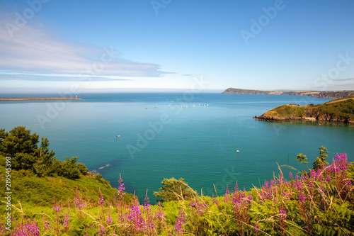 Foto auf Leinwand Kuste Wales Coast Path Fishguard Coastline Landscape Nature Travel UK