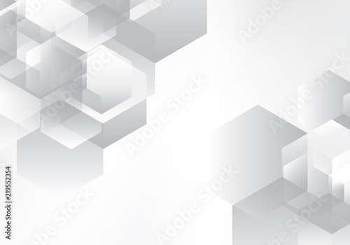 692b0db71e3a Abstract background grey and white tech geometric corporate design vector eps  10