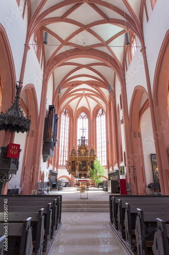 Poster Cracovie The Lutheran Church in Germany