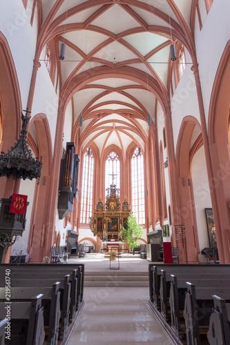 Foto op Canvas Krakau The Lutheran Church in Germany