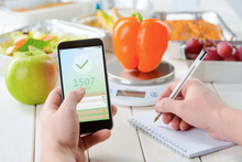 Apple And Calorie Counter App