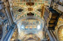 Interior Of Basilica Of Santa ...