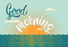Good Morning Hand Lettering Il...